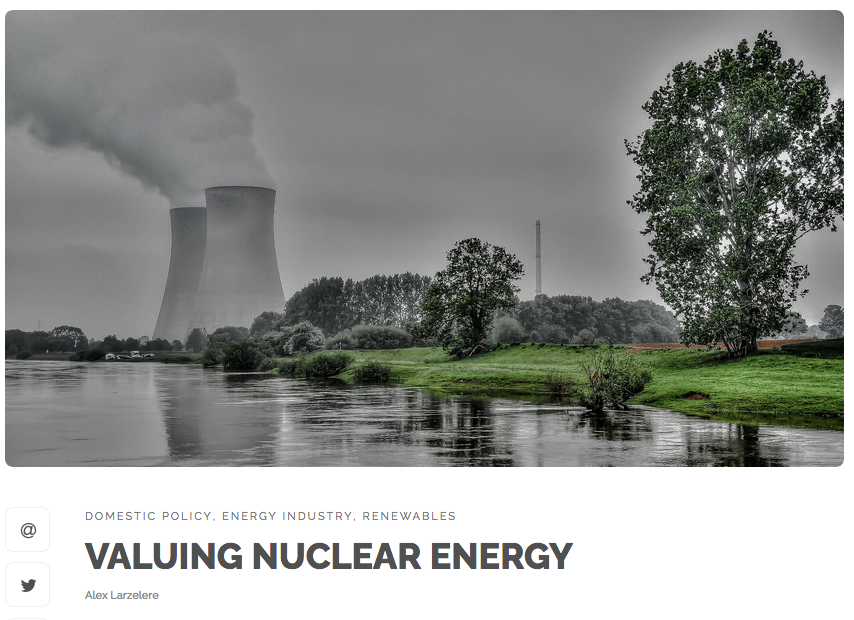 Valuing Nuclear Energy article image